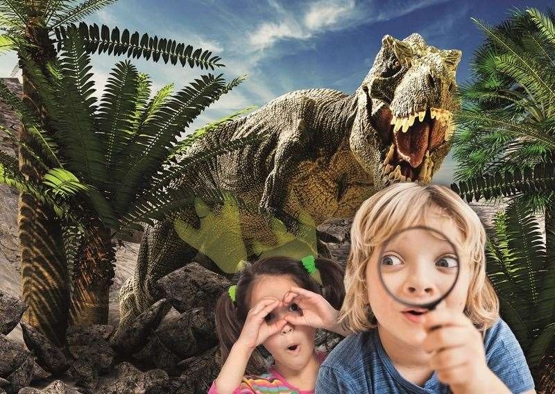 Become a Dino Explorer at Hempstead Valley
