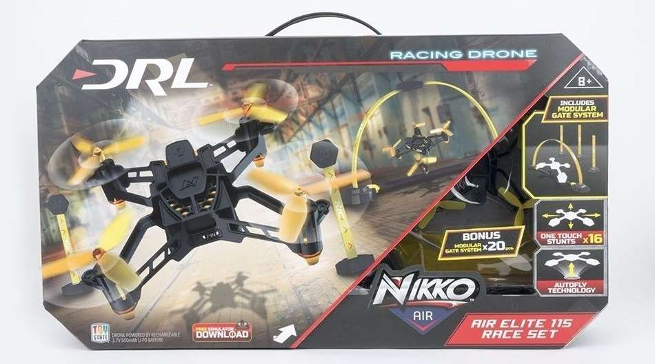Nikko Air DRL 115 Air Elite Drone Race Set