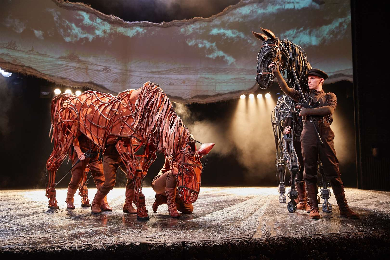 The acclaimed National Theatre production of War Horse is based on the much-loved book by Michael Morpurgo about a horse sold to the British Cavalry and his soldier owner's quest to find him