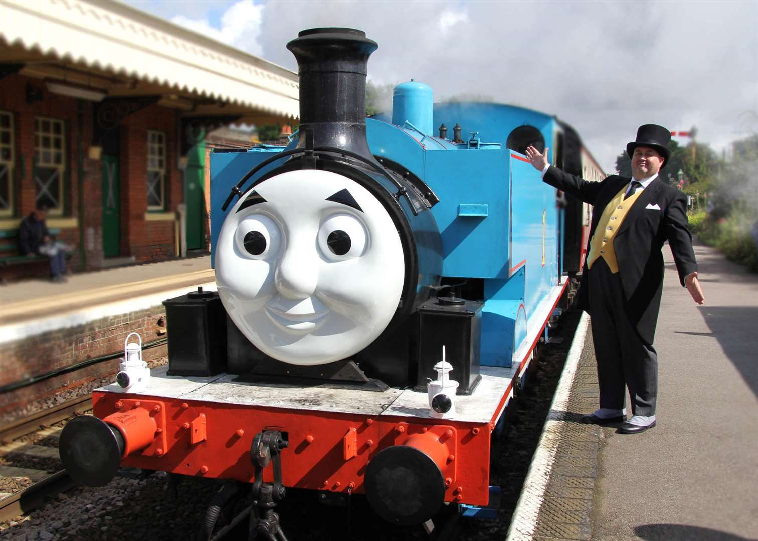 You will be able to meet the Fat Controller as part of your visit