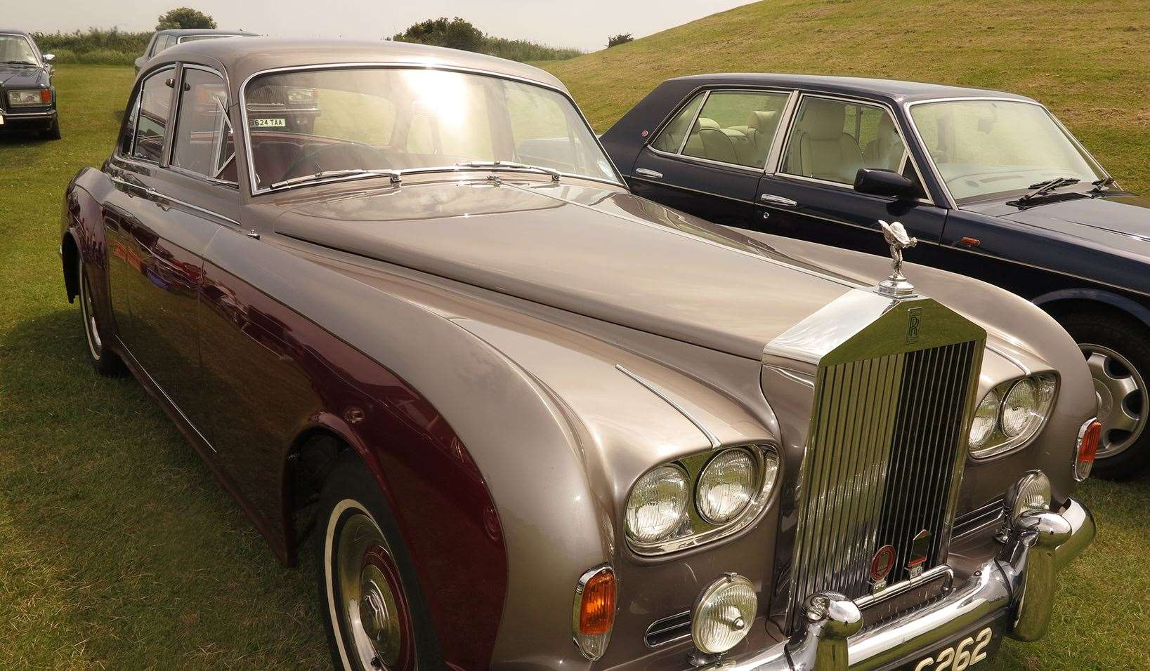 Rolls Royces will be on show at Sunday's D-Day 75 event at the Battle of Britain Memorial, Capel