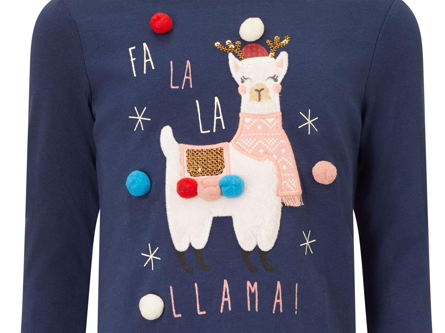 Fa la la llama! Trot along to Tesco for this long-sleeve t-shirt which is just £5.