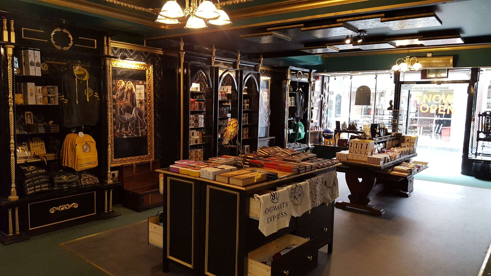 The new Harry Potter-themed shop has opened in Mercery Lane, Canterbury (16086956)