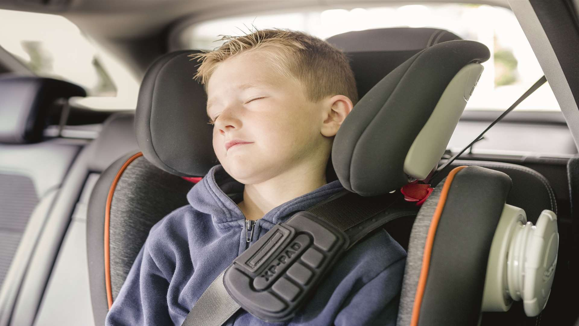 Children must be in a car seat until they are 135cm tall or 12 years old - whichever comes first