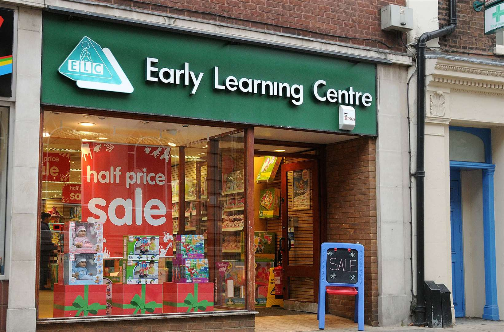 Early Learning Centre stores used to be a regular feature of Kent's high streets. Now their toys can be bought online or through The Entertainer.