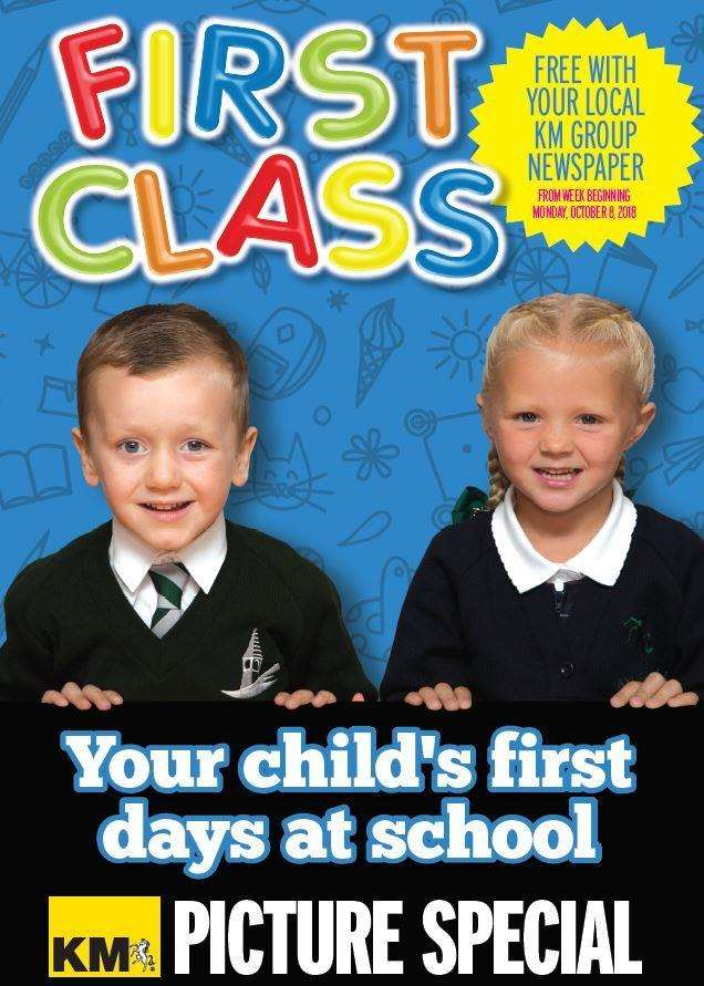 Order your copy of First Class today