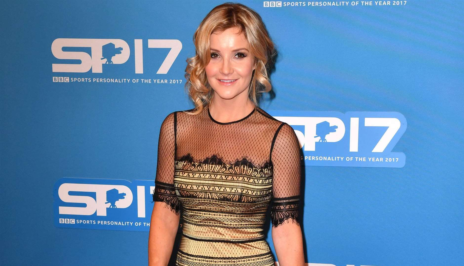 All smiles... Helen Skelton on the red carpet at last year's BC Sports Personality of the Year