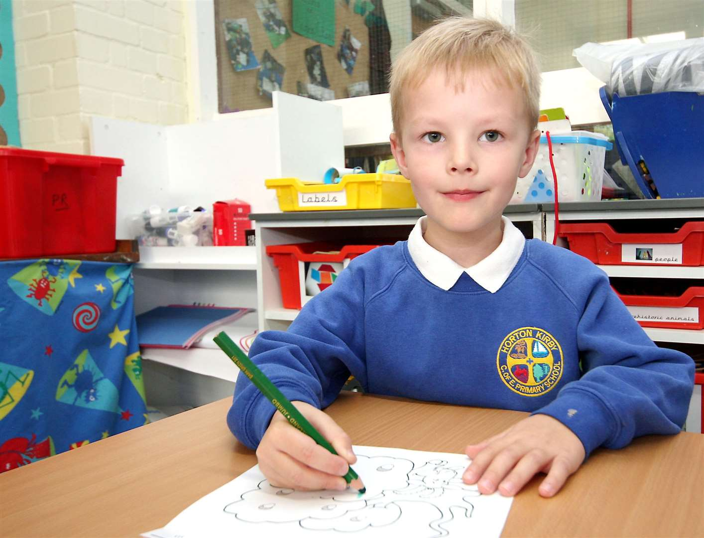 Hundreds of four and five-year-olds will be included from across the county