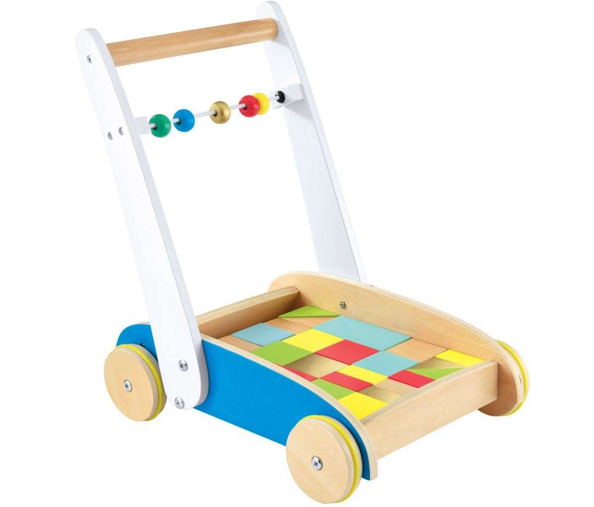 The Early Learning Centre wooden Toddle Truck is £39.99