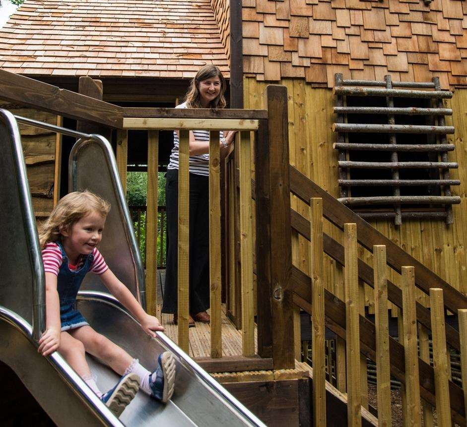 The new treehouse at Chartwell