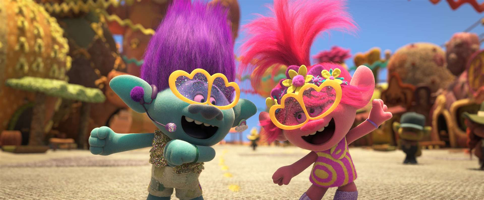 Trolls World Tour. Picture credit: PA Photo/DreamWorks Animation LLC./Universal Pictures.