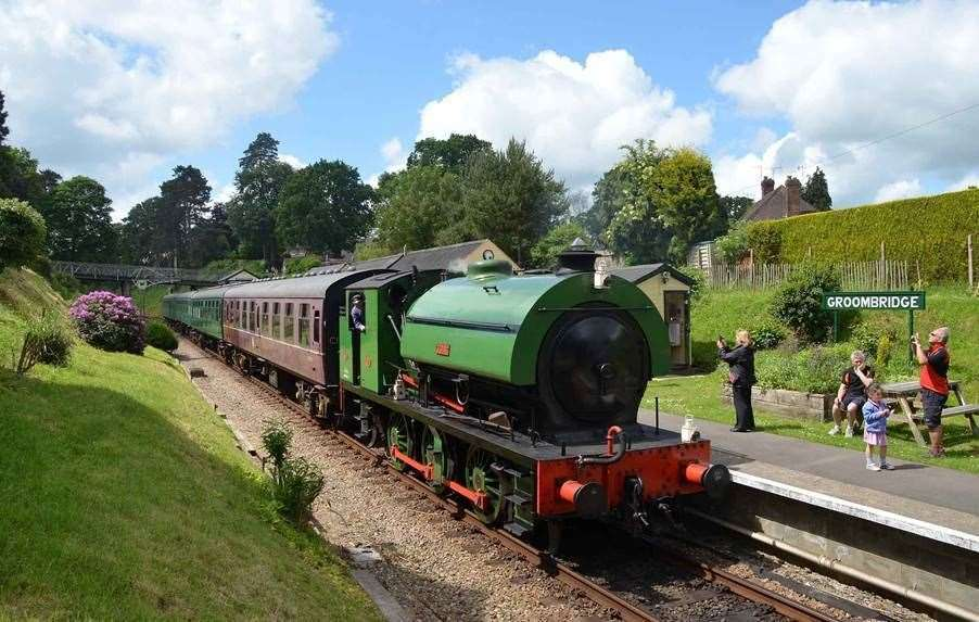 Spa Valley Railway is running services across the three-day weekend