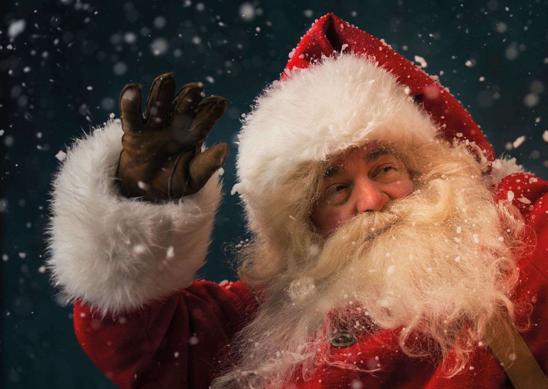 You can now see Santa in Kent at a number of locations