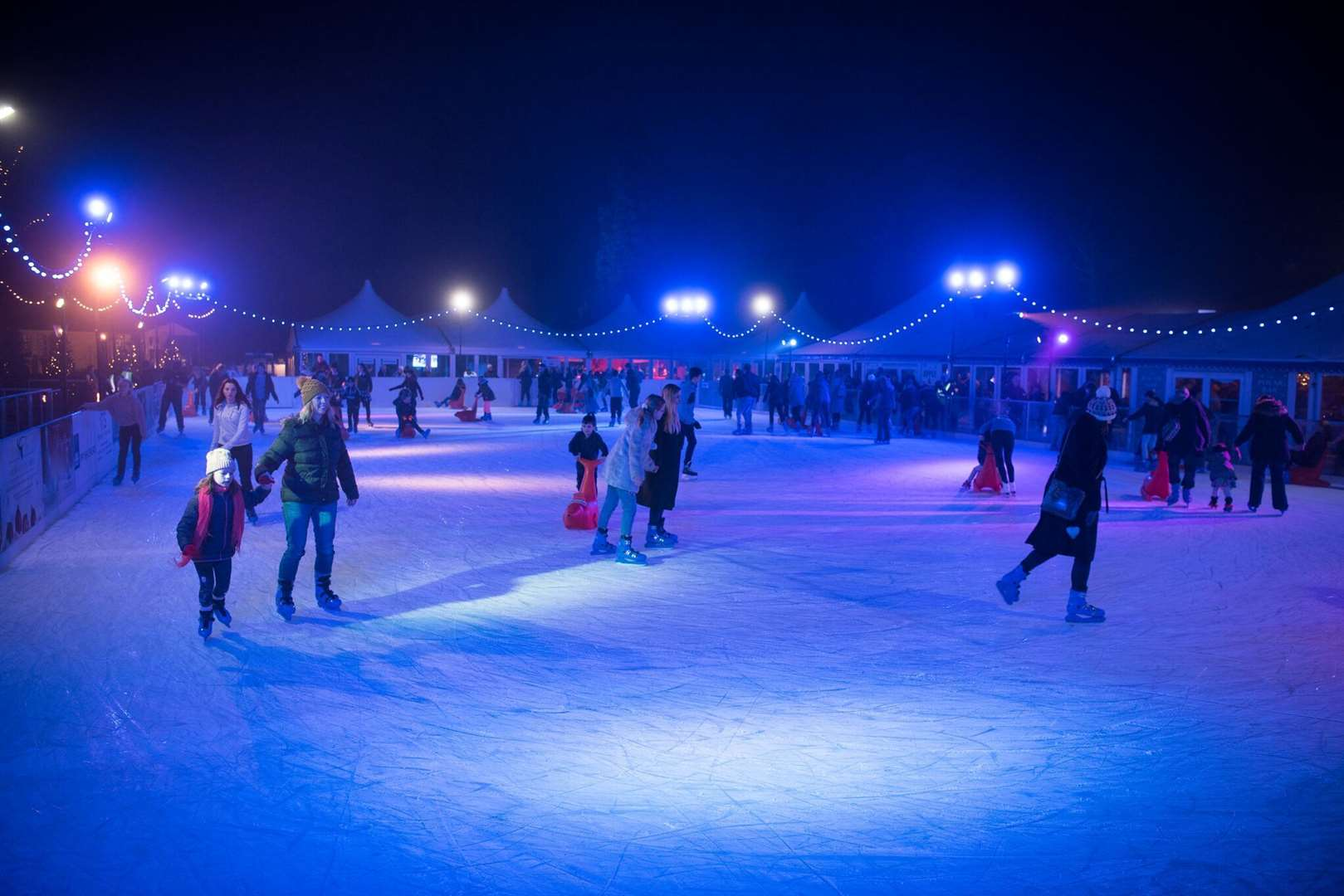 Tickets are on sale for this winter's ice rink at Tunbridge Wells