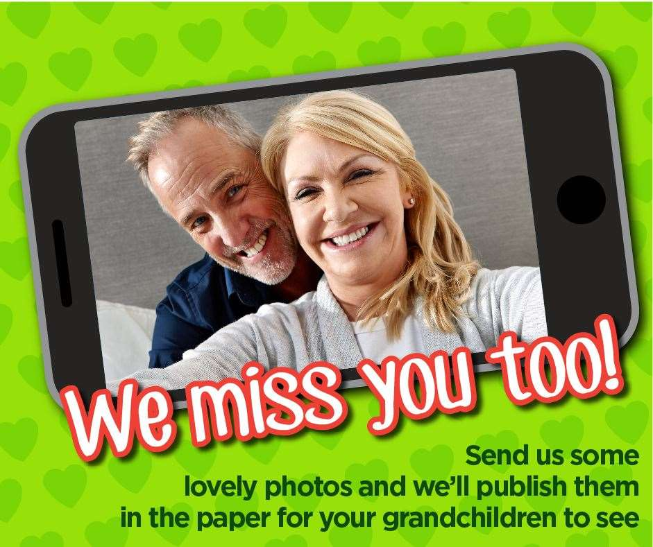 Are you a grandparent missing your grandchild or grandchildren? Send a message to them, through us.