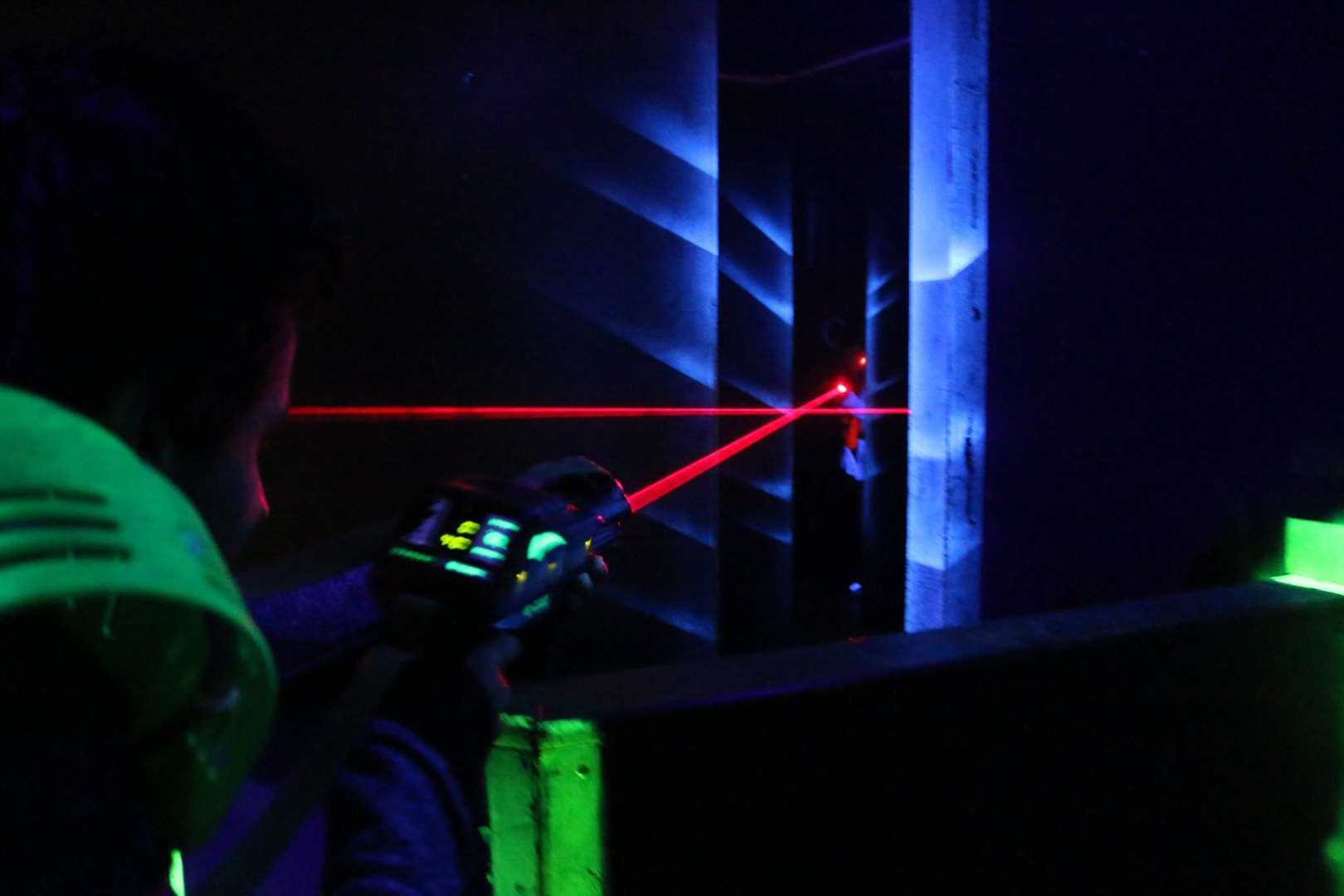 Laser tag in Whitstable is suitable for children ages six and above