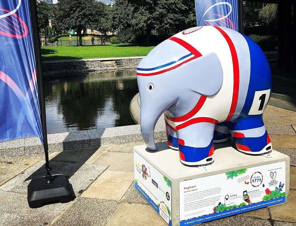 Newcastle is currently hosting its own sculpture trail the elephants