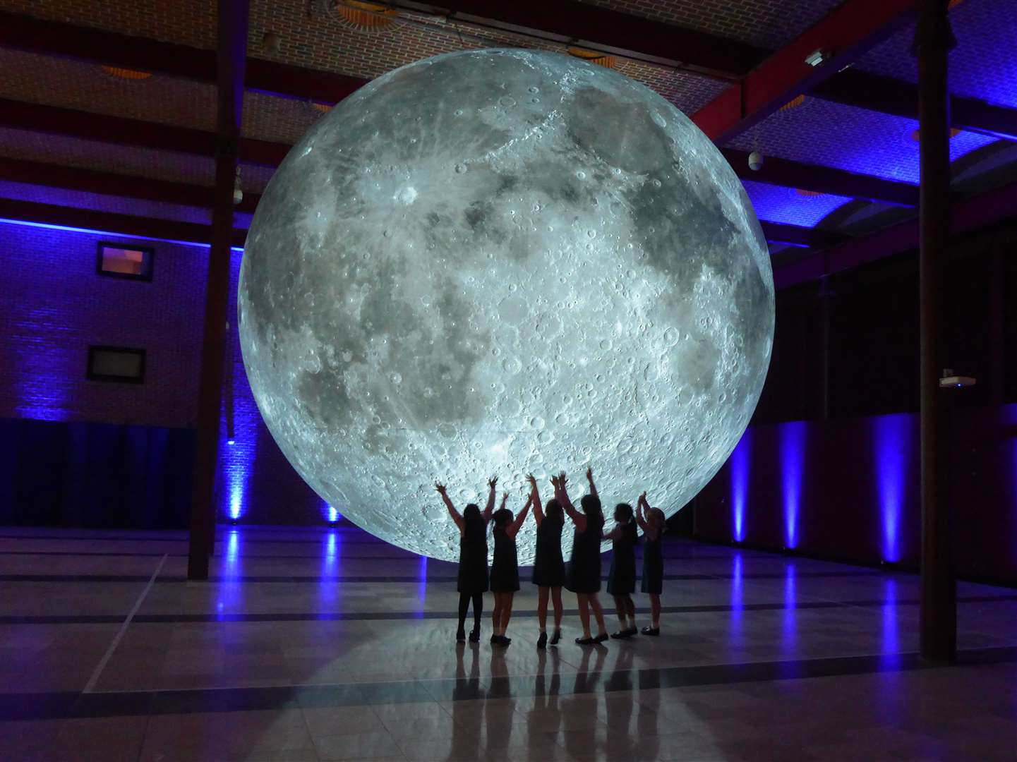 Museum of the Moon has descended on Rochester