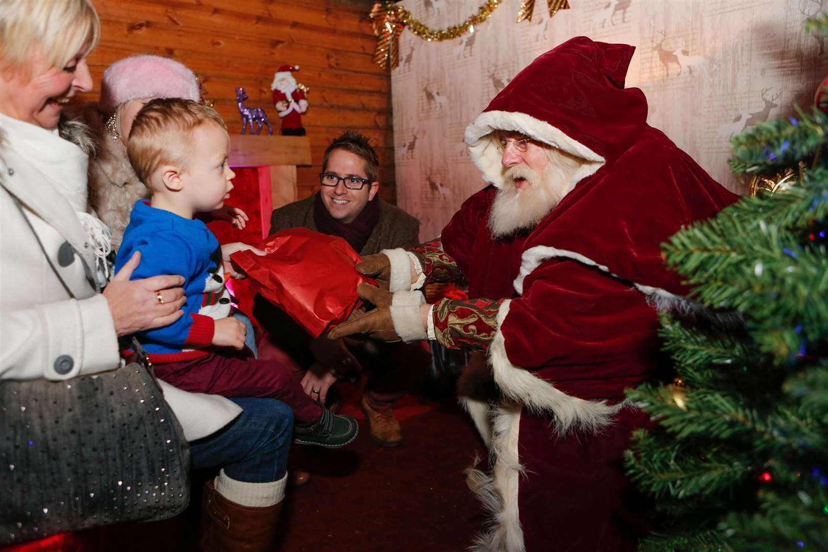 Tickets for the grotto at Leeds Castle will go on sale in October