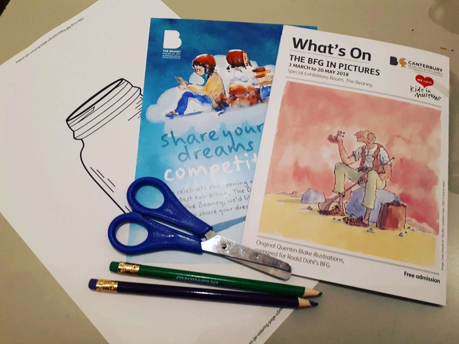 There are plenty of BFG-themed creative activities to choose from