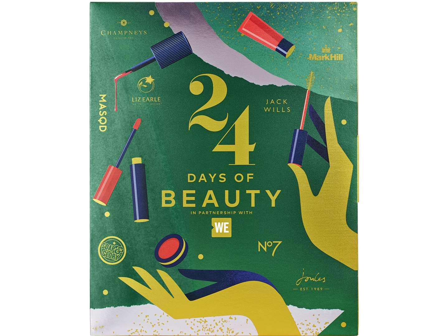 WE 24 Days of Beauty Charity Advent Calendar