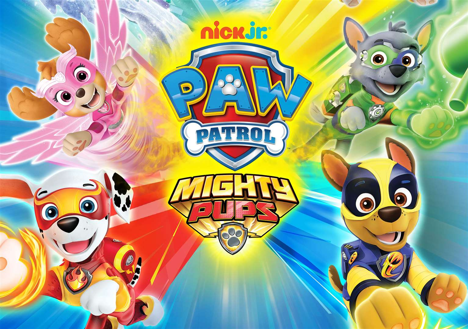 PAW Patrol: Mighty Pups is being released on May 17