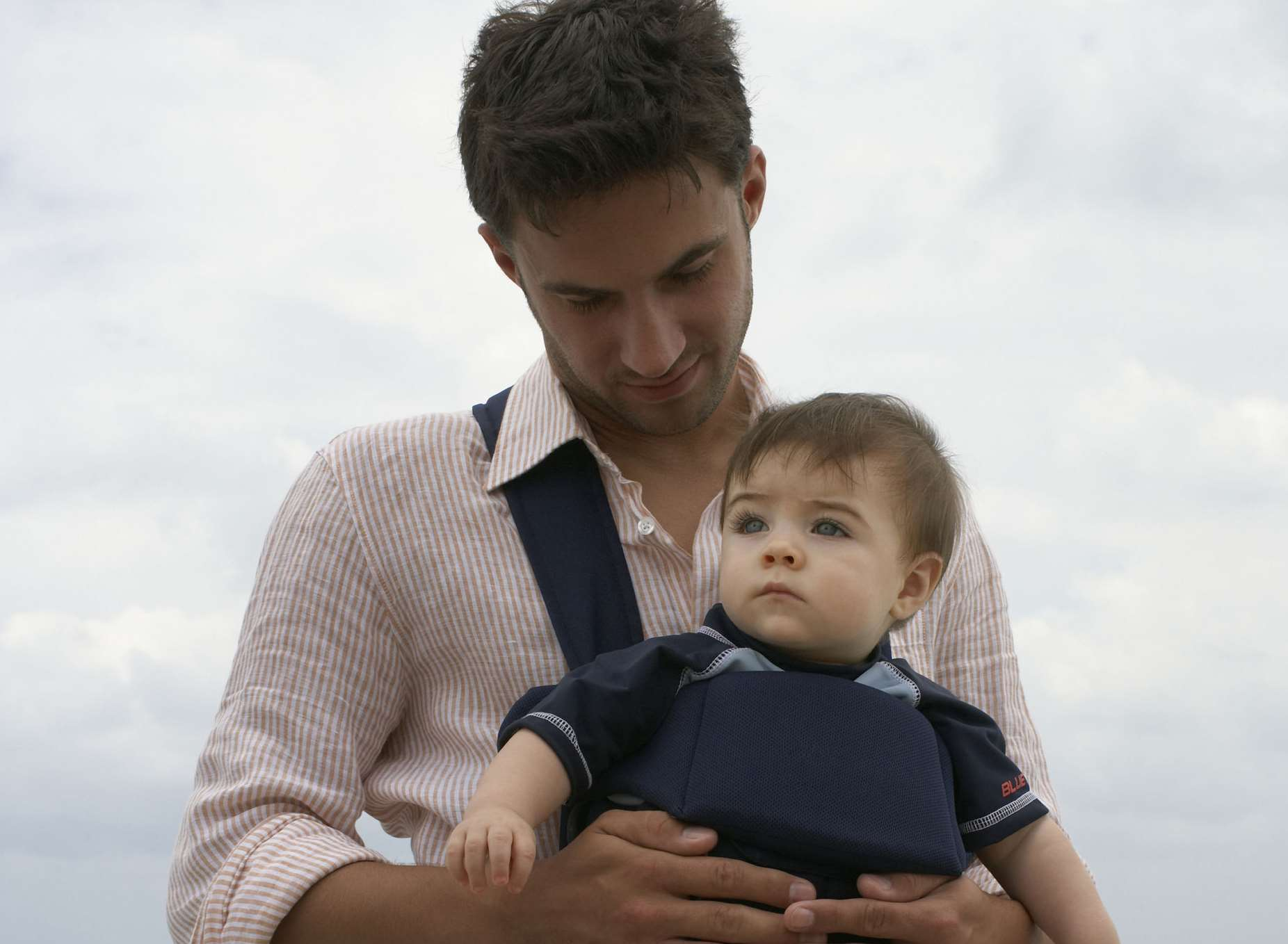 Carrying the baby or wearing it in a sling is one on the foundations of attachment parenting thinking