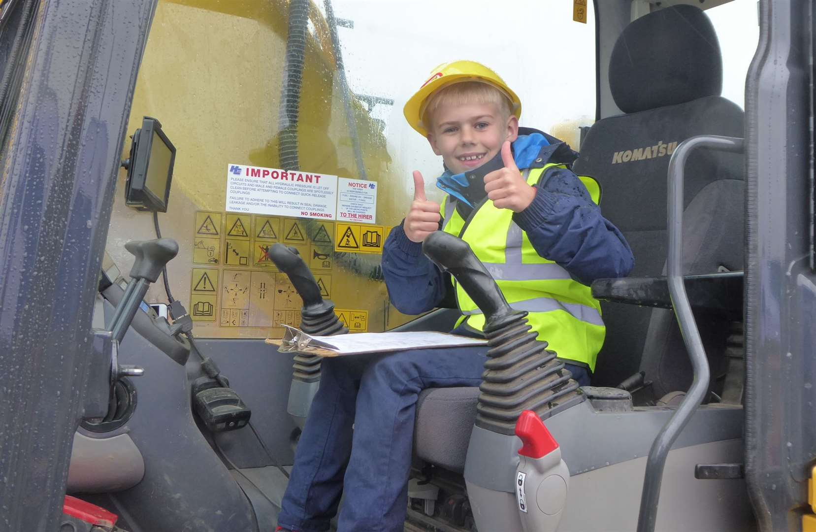 Previous Diggerland Be the Boss winner James Taylor