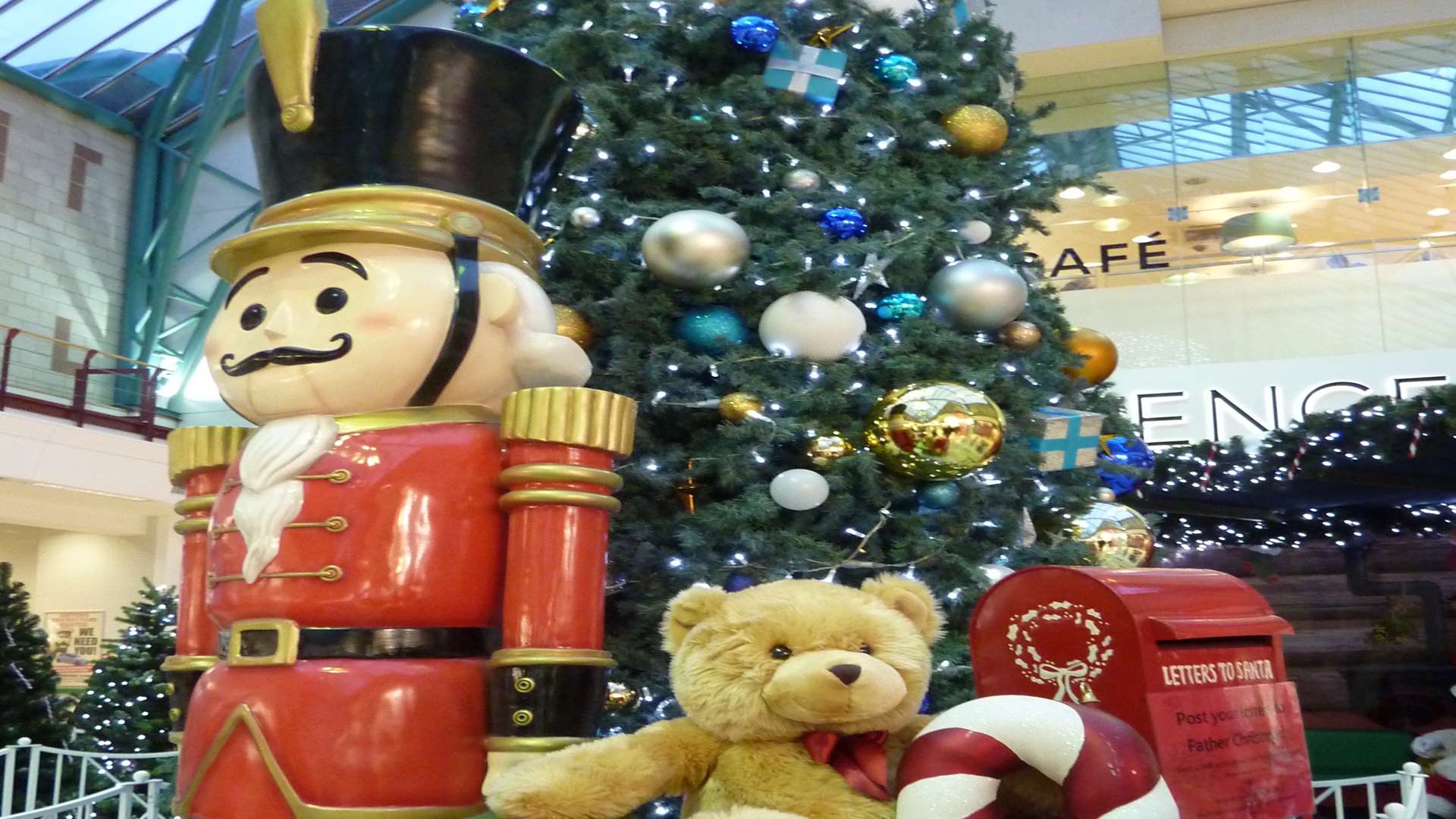 Christmas at Hempstead Valley shopping centre