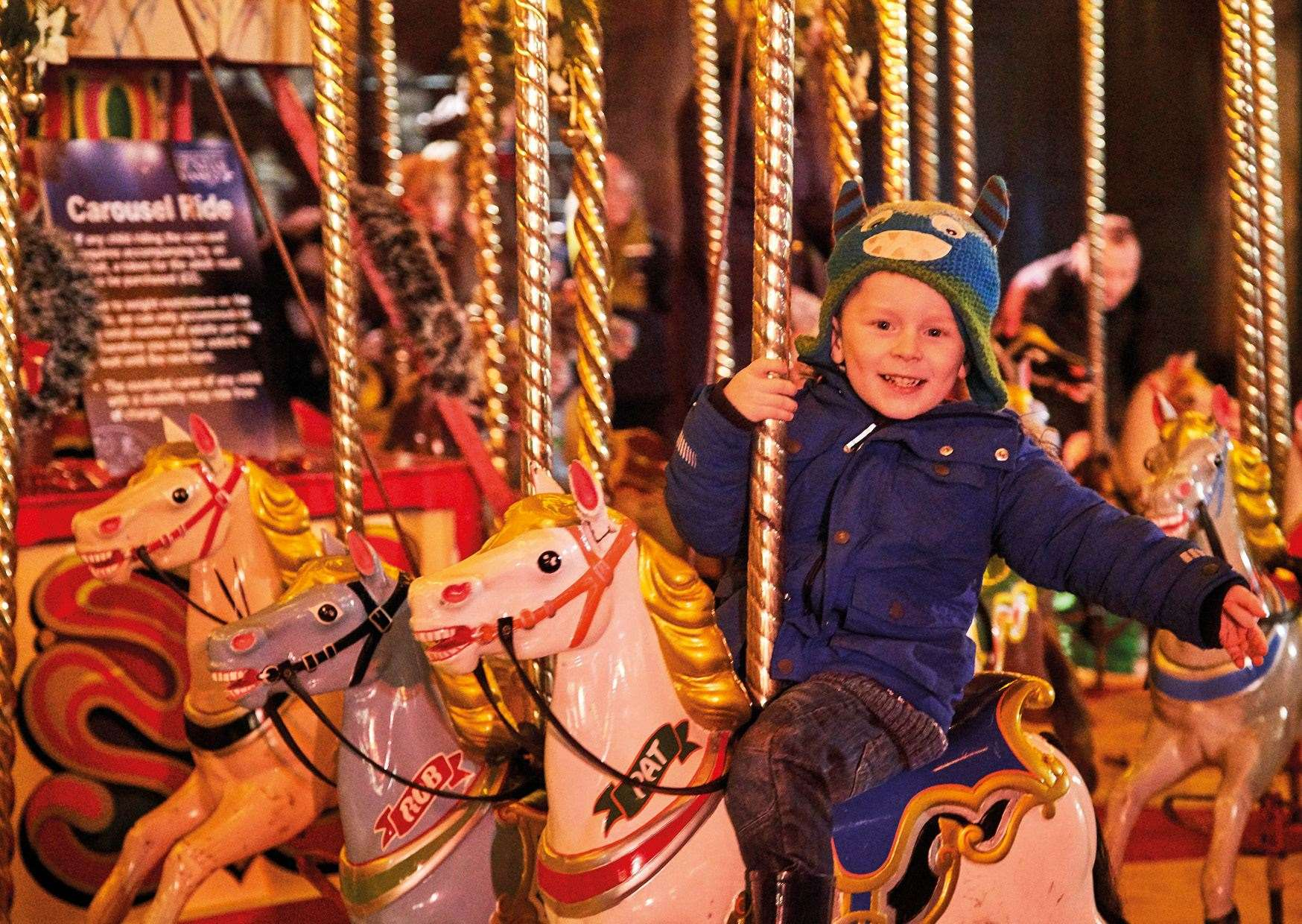 Christmas at Bedgebury will again include rides for children