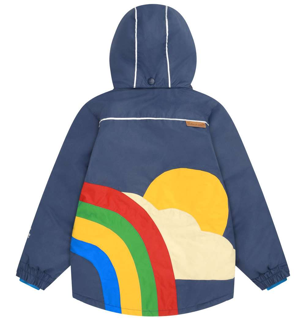 Brighten up your days with this jacket from Muddy Puddles