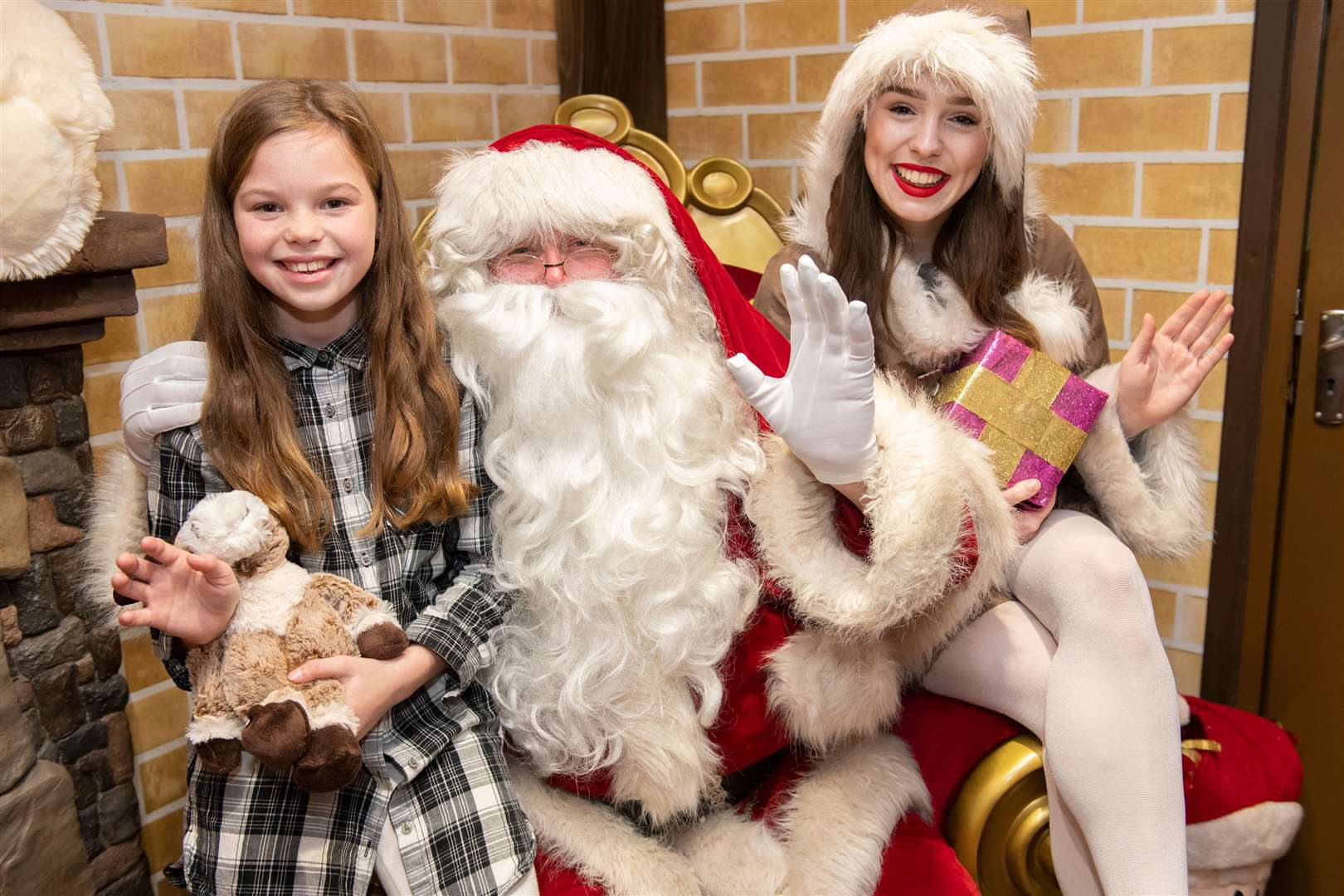 Tickets to see Santa (pictured in 2018) are now on sale