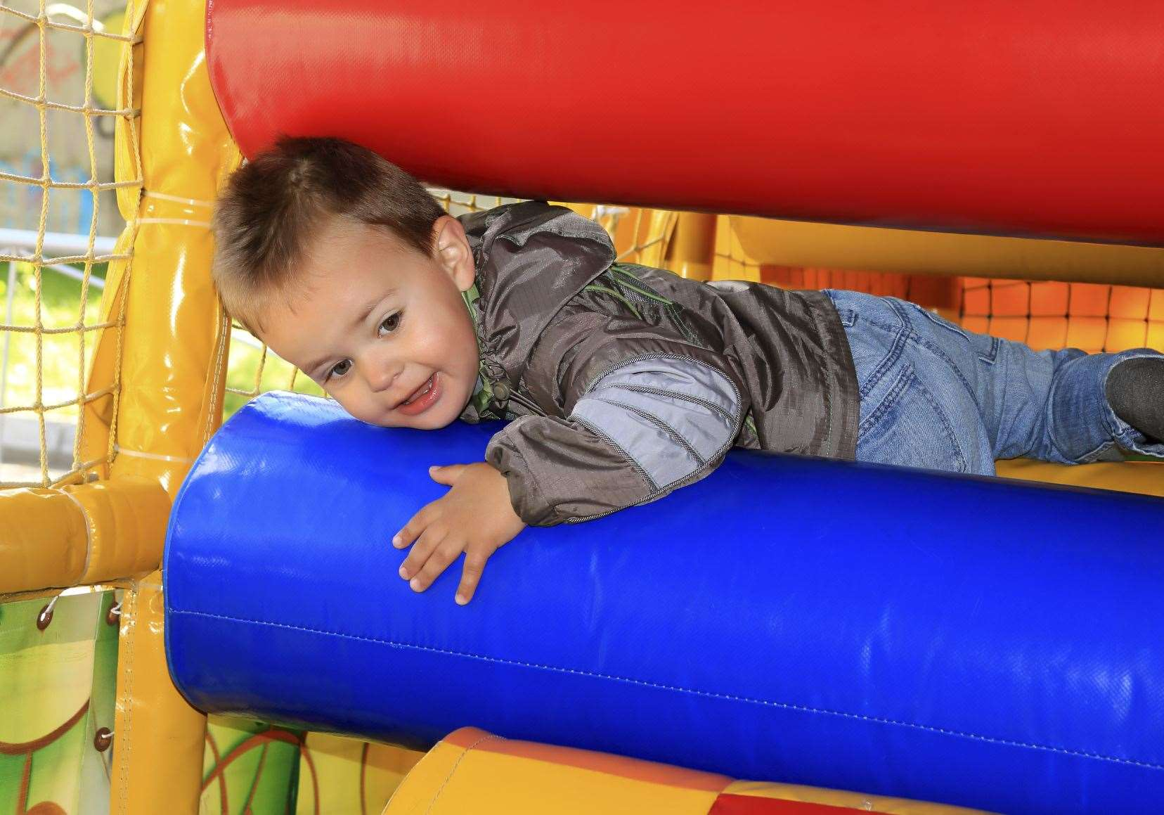 Soft play centres were given the green light to reopen, with new restrictions, back in August. (Stock image).