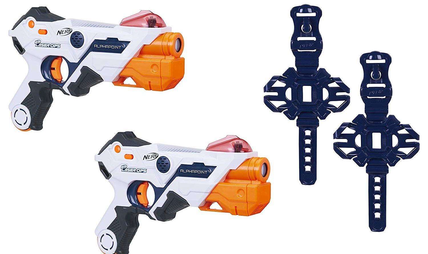 This pack of Nerf Laser Ops Pro Alphapoints is available on Amazon for £44.78 plus free delivery.