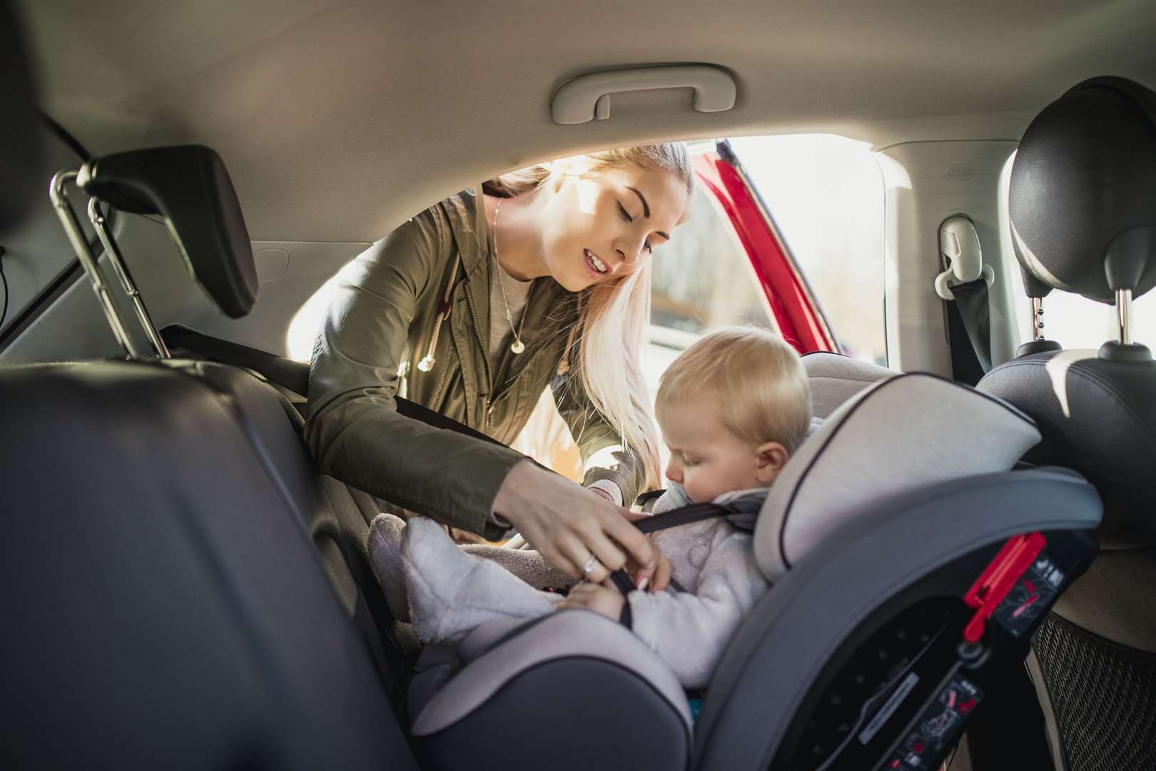Find out how to fit your child's car seat correctly on Tuesday, February 2