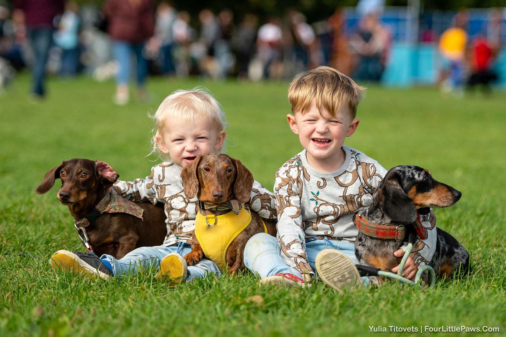 Paws in the Park is taking place this weekend but tickets must be bought in advance