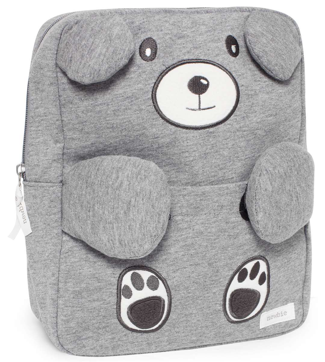 We totally love this bear backpack from Newbie