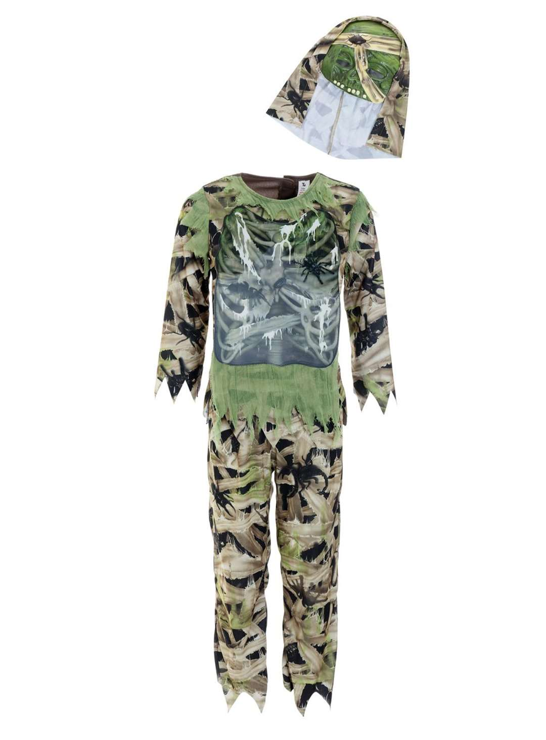 Swamp Zombie Costume with Mask (3-12 years) from Tu