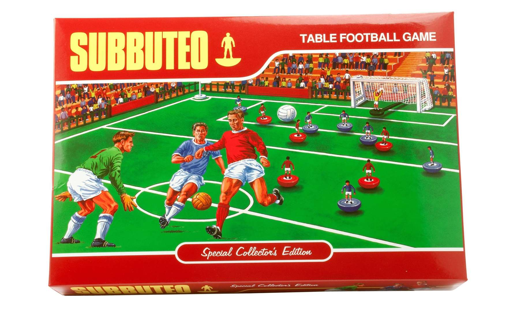 The collector's edition of Subbuteo is being sold at John Lewis