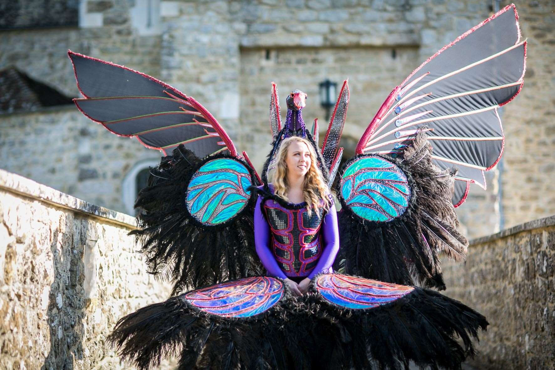 Carnival of History at Leeds Castle in Maidstone on July ...