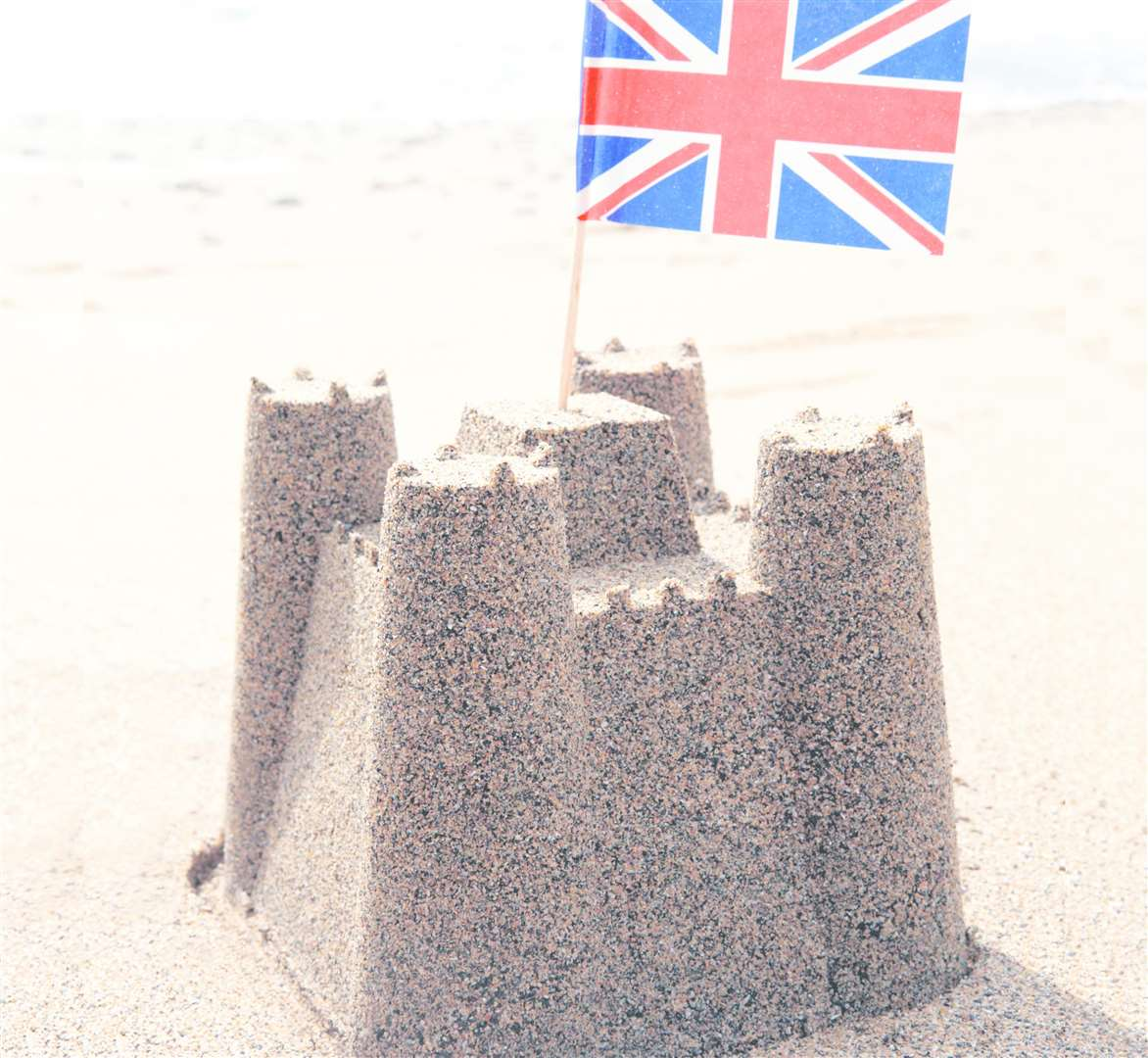 Learn how to build the perfect sandcastle at Dover Castle