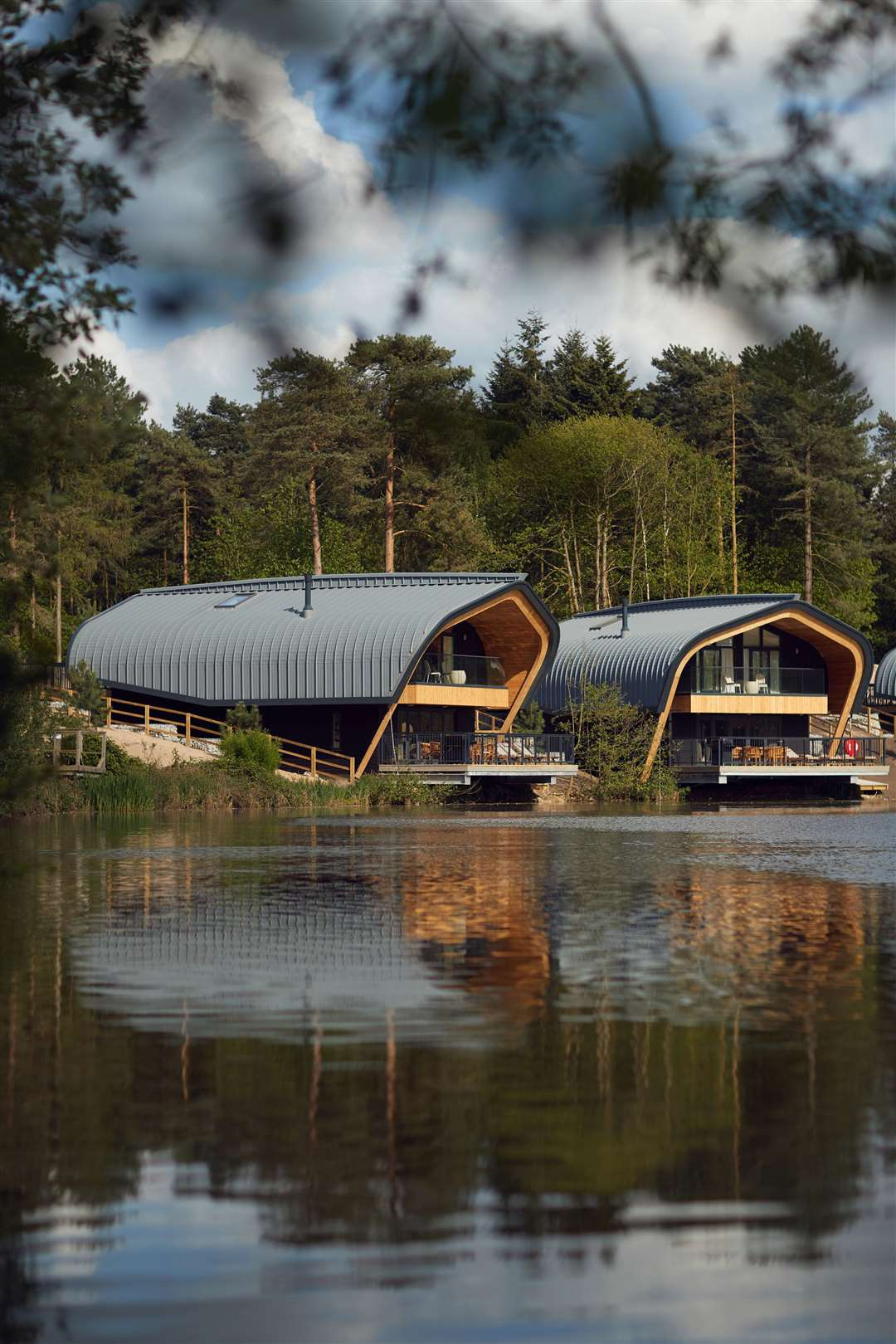 Undated Handout Photo of a Waterside Lodge at Center Parcs. See PA Feature TOPICAL Travel Center Parcs. Picture credit should read: Center Parcs/PA. WARNING: This picture must only be used to accompany PA Feature TOPICAL Travel Center Parcs. (1971400)