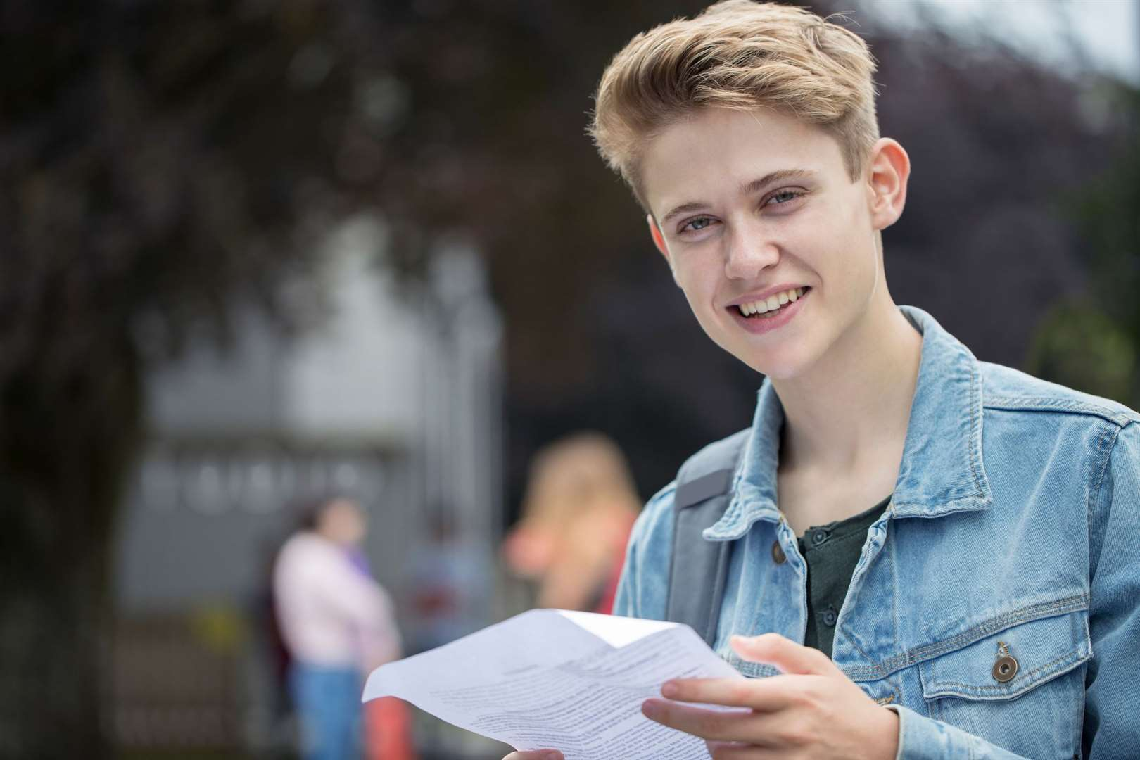 Collecting A-level results is a different experience this year
