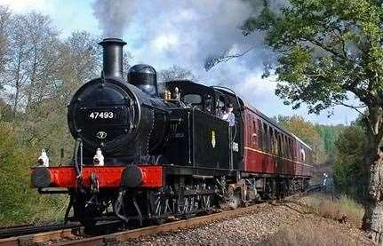 Spa Valley Railway in Tunbridge Wells
