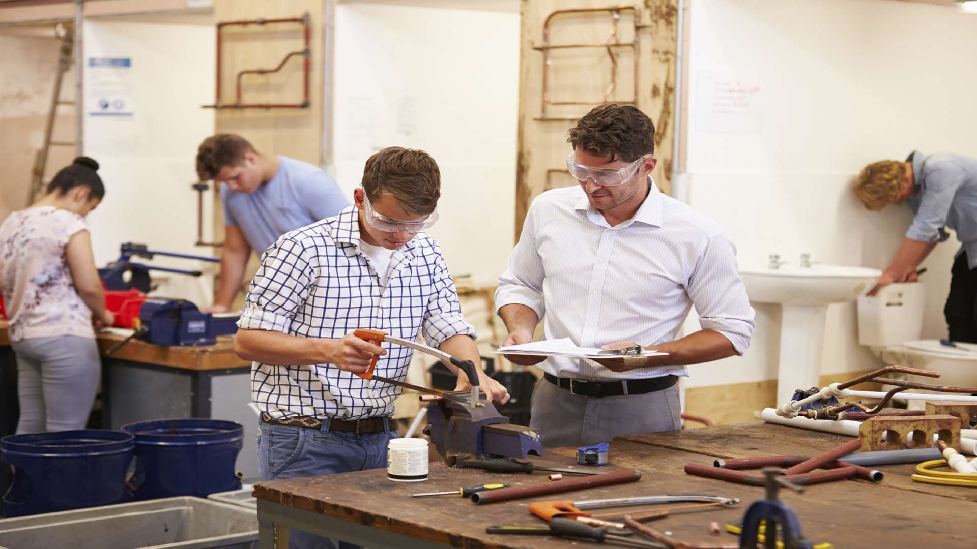 Apprenticeships are a great way to combine practical learning and key skills with on the job training
