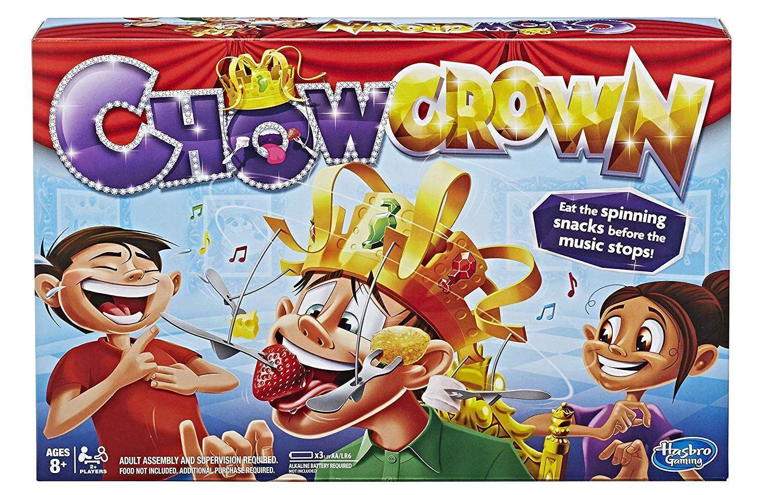 Lots of fun to be had with the Chow Crown game