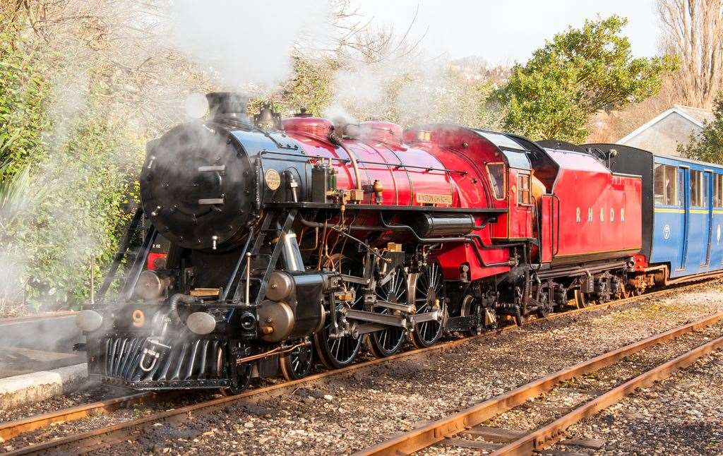 Romney, Hythe and Dymchurch Railway will be running this weekend
