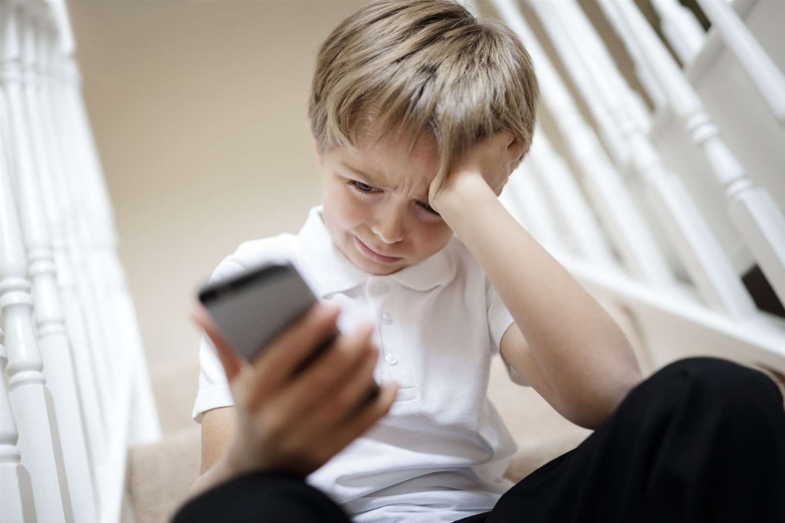 Young people can text a qualified counsellor for support