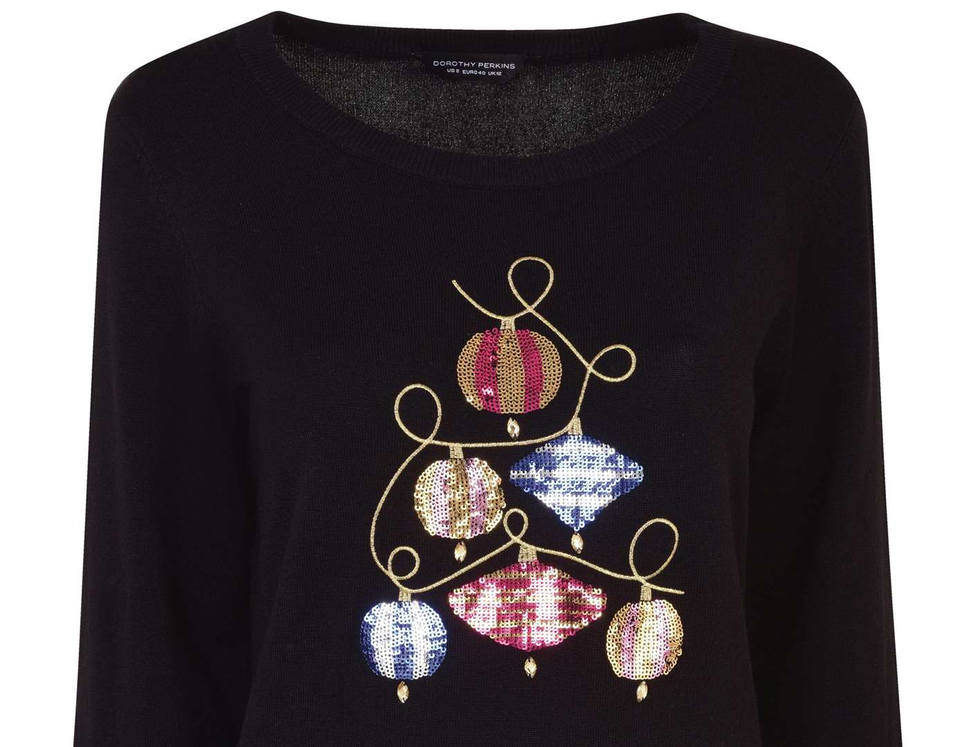 Put some shimmer and shine into your jumper choice with this £28 knit from Dorothy Perkins