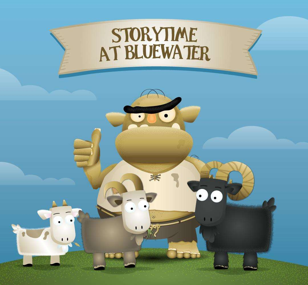 Storytime at Bluewater in February half term